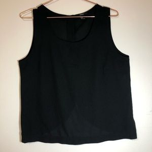 Forever 21 Black Tank Top Size M